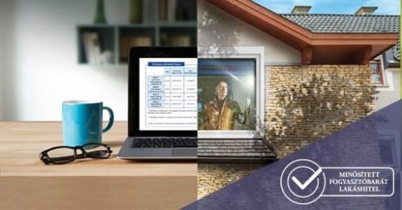 Hitel otthonról, két nap alatt online
